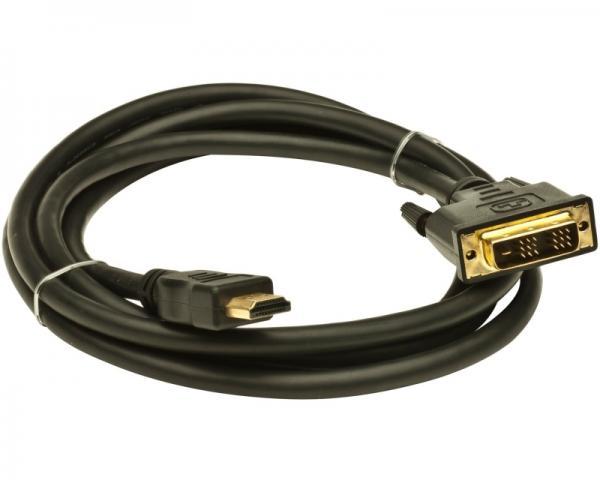 FAST ASIA Kabl HDMI (M) - DVI-D Single Link (M) 2m crni