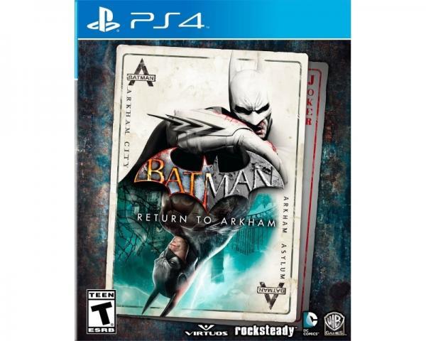 WARNER BROS Batman Return to Arkham PS4
