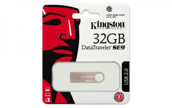 Kingston 32GB DT USB 2.0 DTSE9H/32GB metal