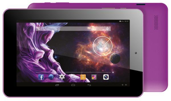 eSTAR BEAUTY HD 7/ARM Cortex-A7 Quad core 1.2GHz/512MB/8GB/WiFi/0.3Mpix/Android 5.1 Lollipop/Purple