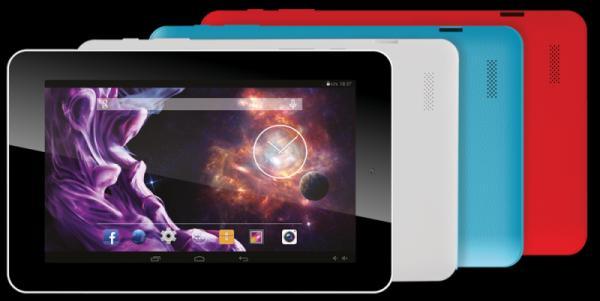 eSTAR BEAUTY HD 7/ARM Cortex-A7 Quad Core 1.2GHz/512MB/8GB/WiFi/0.3Mpix/Android 5.1 Lollipop/Red