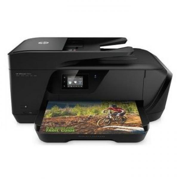 3G HP OfficeJet 7510 Wide Form at All-in-One Printer, A3, LAN , WiFi, ADF, fax