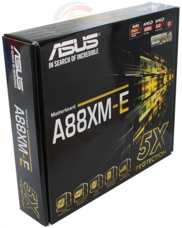 Asus AMD A88XM-E/USB 3.1 FM2+