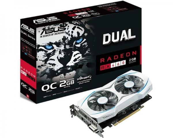 Asus AMD RX 460 2GB 128bit DUAL-RX460-O2G