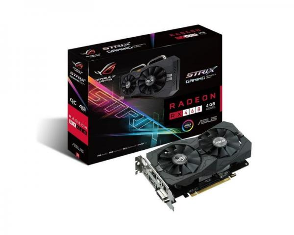 Asus AMD RX 460 4GB 128bit STRIX-RX460-O4G-GAMING