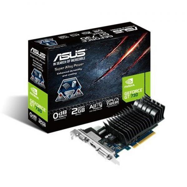 Asus NVD GT 730 2GB 64bit GT730-SL-2GD3-BRK