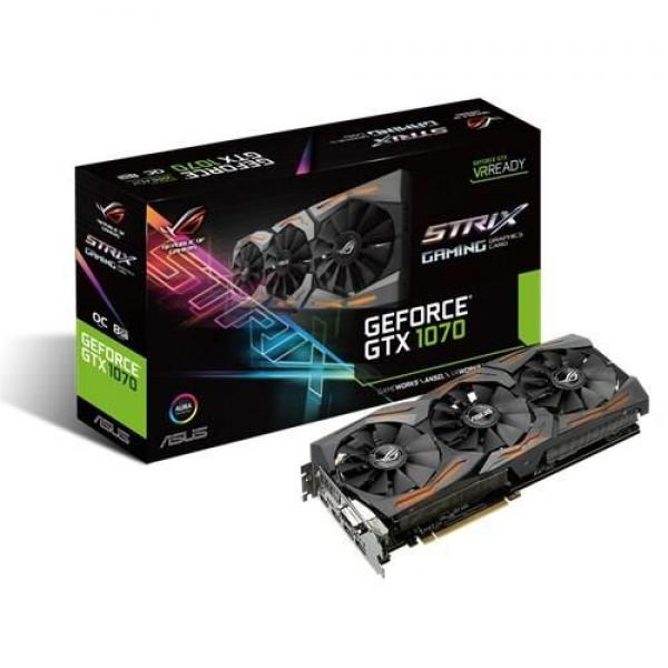 Asus NVD GTX1070 8GB 256bit STRIX-GTX1070-O8G-GAMING
