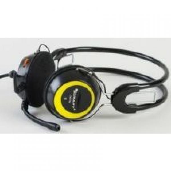 CHS-T3 Slusalice sa mikrofonom, Zute