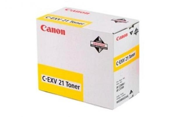 Canon Toner CEXV21 Yellow za iRC2380/3380, yield 14K