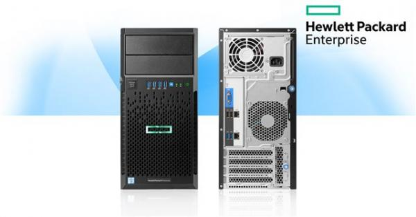 HPE ML30 4LFF  E3-1220v5 8GB 1TB SATA B140i DVD-RW 2x1GB 350W