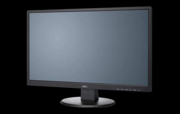 Fujitsu Display E24T-7 Pro, EU cable 60.5cm (24) wide display, matt black HDMI, DVI, VGA