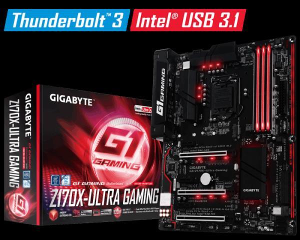 Gigabyte Intel MB GA-Z170X-Ultra Gaming 1151