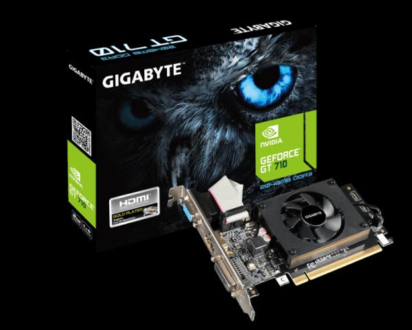 Gigabyte NVD GT 710 2GB DDR3 64bit GV-N710D3-2GL 2.0