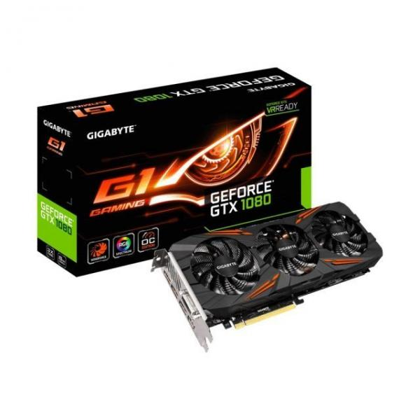 Gigabyte NVD GTX 1080 8GB DDR5 256bit GV-N1080G1 GAMING-8GD