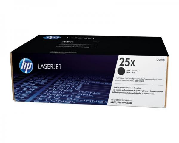 HP 25X Toner Black Original LaserJet High Yield za seriju M806/ M830 CF325X