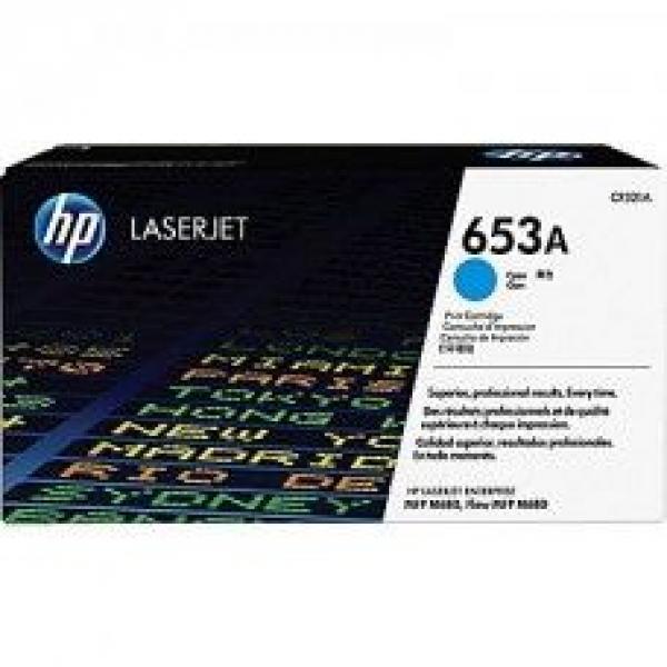 HP 653A Cyan  LaserJet Toner Cartridge za LJ MFP M680 series CF321A