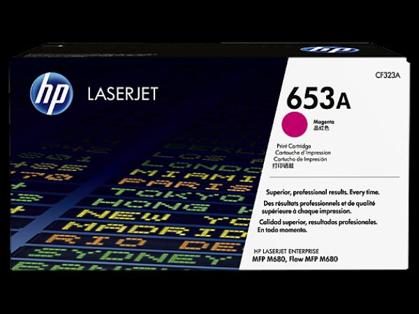 HP 653A Magenta LaserJet Toner Cartridge za LJ MFP M680 series CF323A