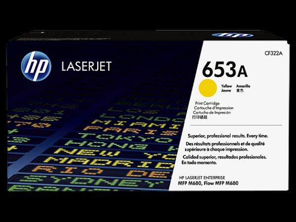 HP 653A Yellow  LaserJet Toner Cartridge za LJ MFP M680 series CF322A