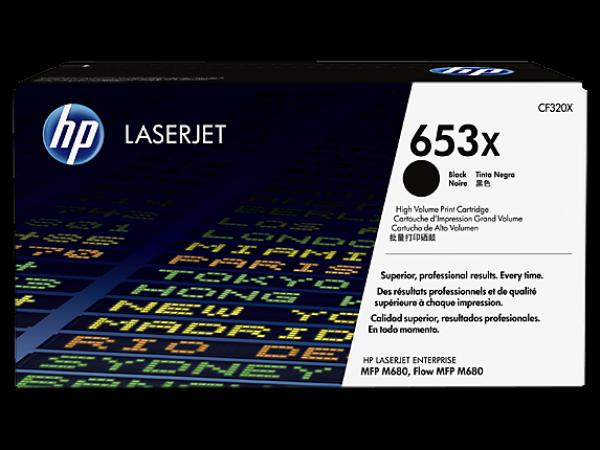 HP 653X High Yield Black LaserJet Toner Cartridge za LJ MFP M680 series CF320X