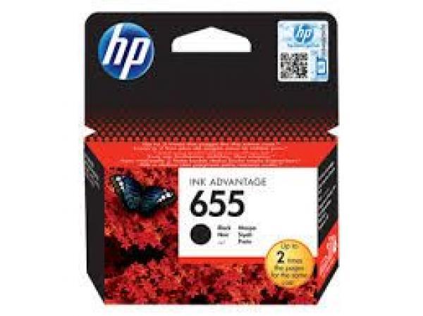 HP 655 Black Ink Cartr. [CZ109AE],HP Deskjet Ink Advantage 3525, 4615, 4625, 5525, 6525 e-All-in-One