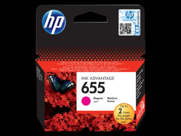 HP 655 Magent.Ink Cartr[CZ111AE],HP Deskjet Ink Advantage 3525, 4615, 4625, 5525, 6525 e-All-in-One