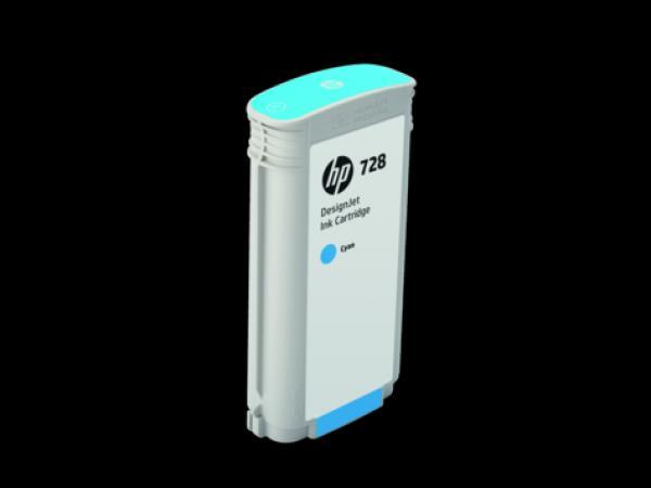 HP 728 130-ml Cyan Ink Cart za T730 36/T830 36 F9J67A
