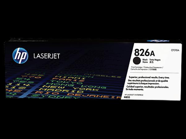HP 826A Black LaserJet Toner Cartridge za seriju M855 CF310A