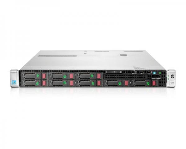 HP DL360 Gen9 Intel 8C E5-2630v3 2.4GHz 16GB-R P440a/2GBr 8SFF NoHDD NoODD 500W Remarket Rack 3-3-3
