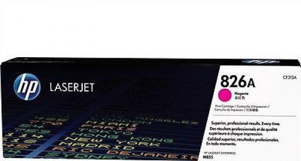 HP 826A Magenta LaserJet Toner Cartridge za seriju M855 CF313A