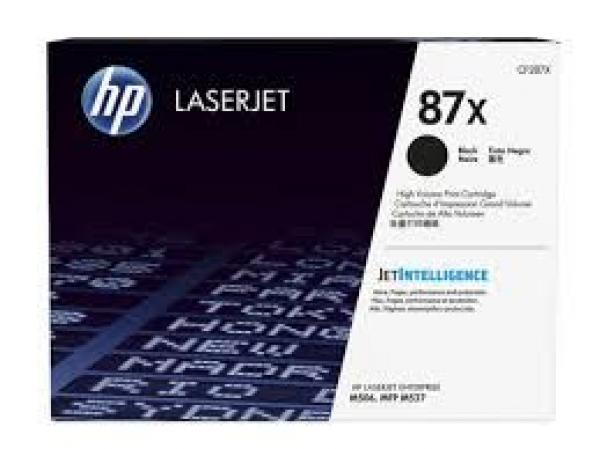 HP 87X High Yield Black LaserJet Toner Cartridge za LJ M506/M527 CF287X