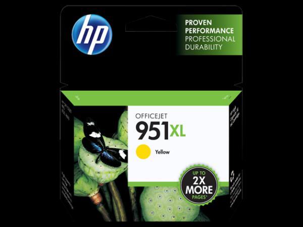 HP 951 Yellow Ink Cartridge Officejet Pro 251/276/8100/8600/8610/8620 CN052AE