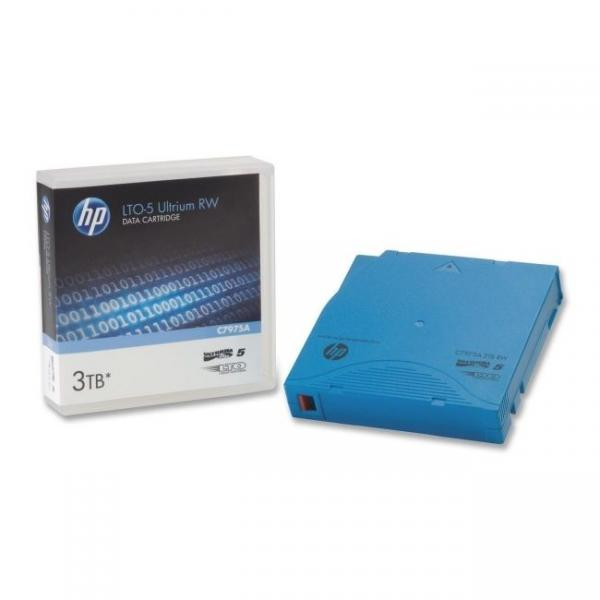 HP C7975A LTO Ultrium-5 Data Tape Cartridge (1.5TB/3TB)