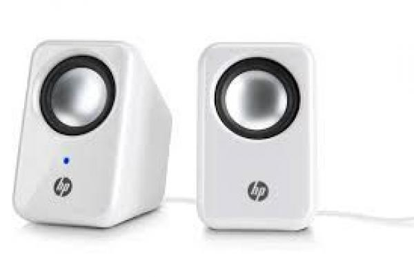 HP Multimedia 2.0 Speakers White (H3W58AA)