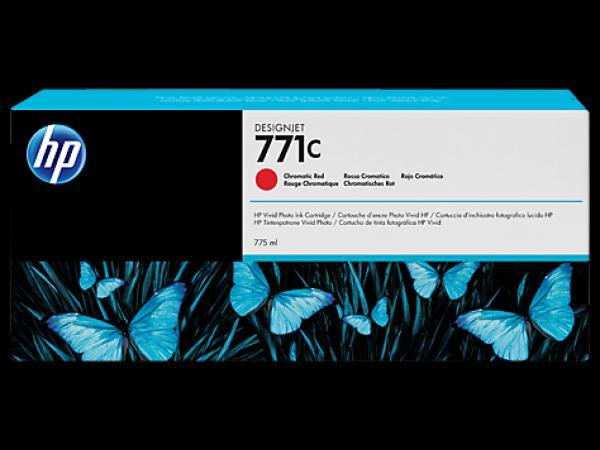 HP No. 771C 775-ml Chromatic Red Designjet Ink Cartridge za Ploter Z6200 [B6Y08A]