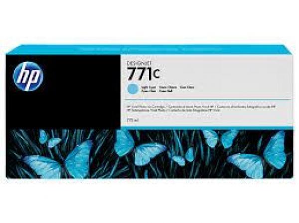 HP No. 771C 775-ml Light Cyan Designjet Ink Cartridge za Ploter Z6200 [B6Y12A]