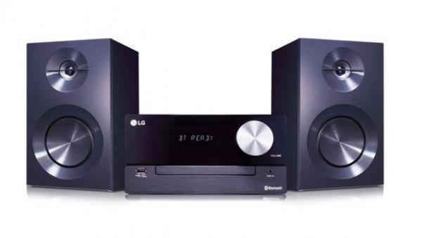 LG CM2460 CD 100W, Mikrolinija, Bluetooth, USB