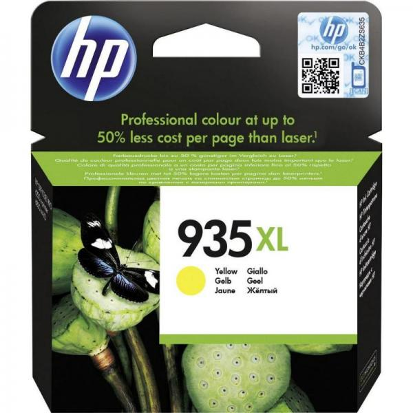 HP No. 935 XL High Yield Yellow Ink Cartridge Officejet Pro Printers 6230, All-in-One  6830 C2P26AE