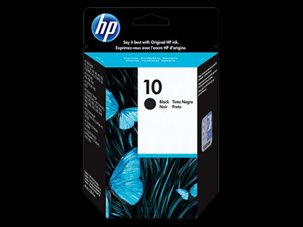 HP No.10 Black Ink Cartridge za ploter 70/500/800/100/110/815mfp/Off.J. Pro K850,Buss.1000 [C4844A]