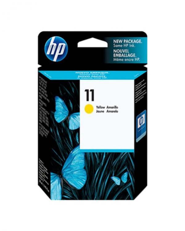 HP No.11 Yellow Ink Cartridge za ploter 70/100/110/Off.Jet Pro K850,Buss.1000  [C4838A]