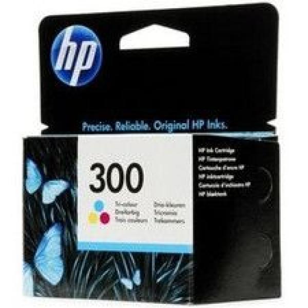 HP No.300 Tri-color Ink Cartridge za DeskJet D1660/D2560/F2420/F2480 [CC643EE]