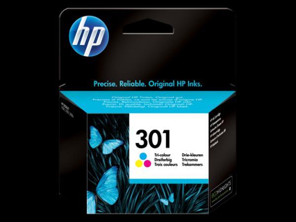 HP No.301 Tri-color Ink Cartridge za DeskJet 1000/1050/2000/2050/3000/3050  [CH562EE]