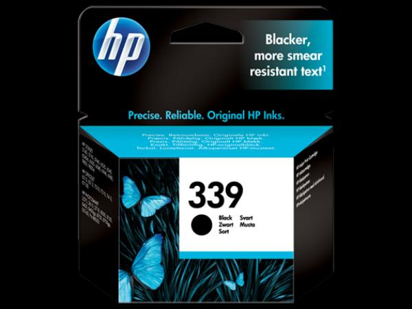 HP No.339 Black Cartr.PSC2710/8150/8450,DJ5740/5940/6520/6540/6580,PhtoSm 8050/2575 [C8767EE] (21ml)