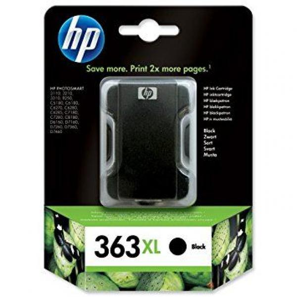 HP No.363 Large Black Ink Cartridge (Photo Smart 8250/3210/3310) [C8719EE]