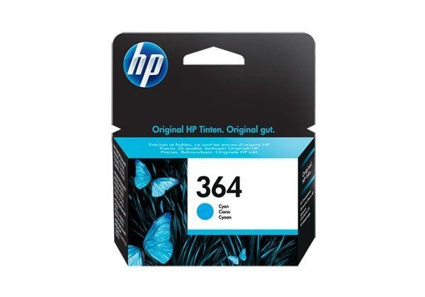 HP No.364 Cyan Ink Cartridge za Photosmart D5460 [CB318EE]