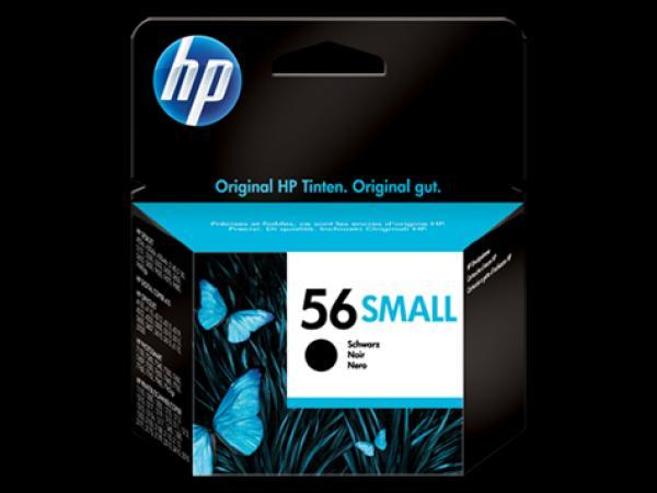 HP No.56 Small Black Inkjet Print Cartridge Deskjet 5550/5552/5652/5850/9650/9670 [C6656GE]