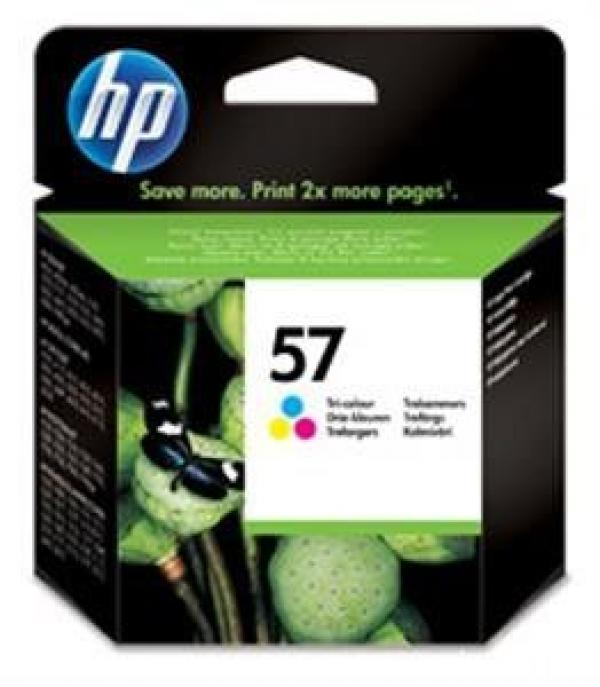 HP No.57 Tri-Color InkJet Print Car. za DJ 5150/5550/5650/5850/9650/9570/9680/Off.jet 4255 [C6657AE]