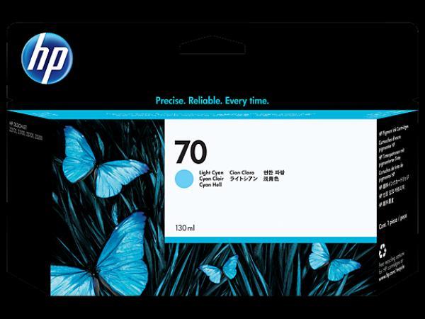 HP No.70 130 ml Cyan Ink Cartridge with Vivera Ink za Z2100 [C9452A]