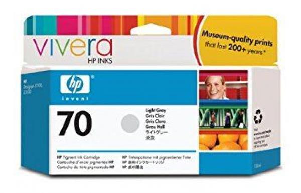 HP No.70 130 ml Light Grey Ink Cartridge with Vivera Ink za Z2100/Z3100 [C9451A]