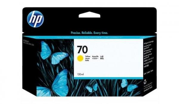 HP No.70 130ml Yellow Ink Cartridge za Z2100/Z3100 [C9454A]