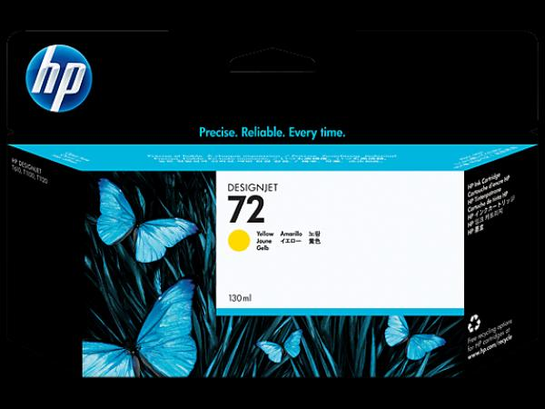 HP No.72 130 ml Yellow Ink Cartr. za T610/T1100/T770/T790/T2300/T1300 [C9373A]